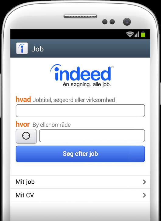 Jobsøgning hvor som helst, når som helst.