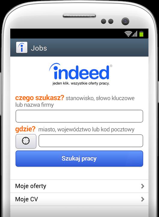 Szukaj pracy gdziekolwiek, kiedykolwiek.