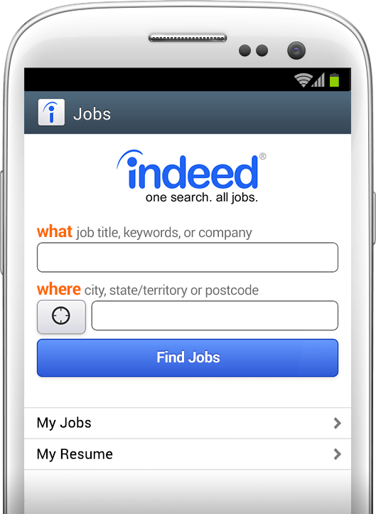 Job search anywhere, anytime.